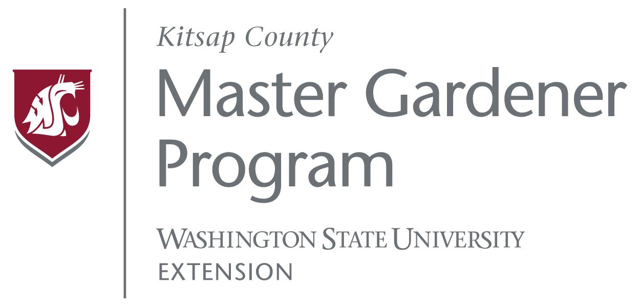 WSU Kitsap Master Gardener Program Logo
