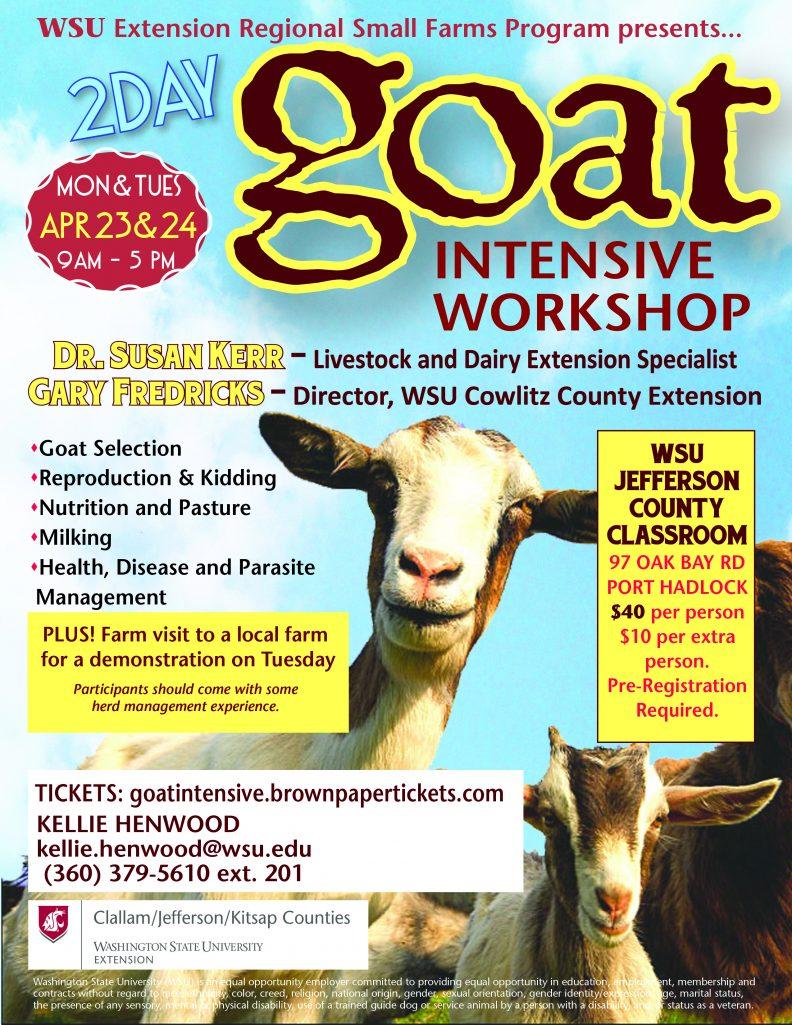 Goat Workshop 2018