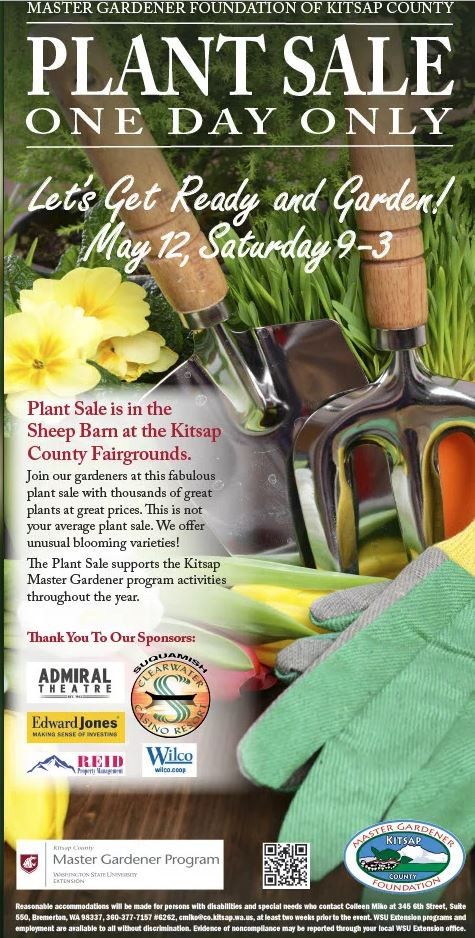 Mgfkc Annual Plant Sale Kitsap County Washington State University