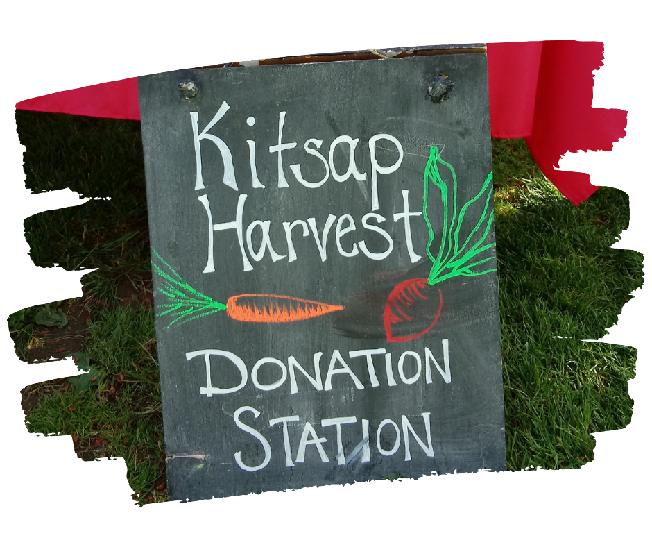 Donation station sign