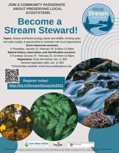 Stream Steward Training Flyer