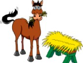 Horse_and_Hay