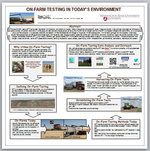 Poster - On-Farm Testing in Today's Environment