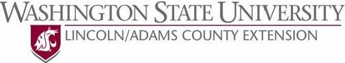 WSU Lincoln-Adams Extension Logo