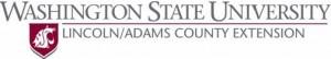 WSU Extension Lincoln-Adams logo