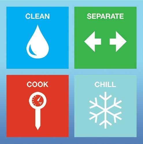 FDA safe food handling logo