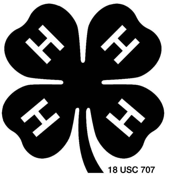 4 h logos spokane county washington state university rh extension wsu edu 4-H Clover Printable 4 h clover clip art free