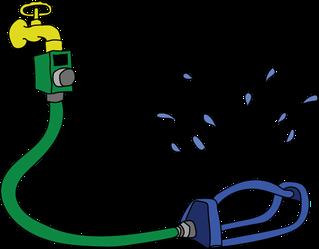 image of water sprinkler