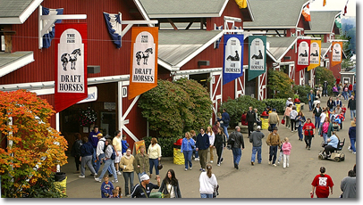 Washington State Fair Livestock Barns