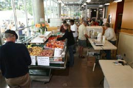 The City of Vancouver is very proud of their creation of an indoor, year-round farmers market.