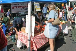Growth in the number of Farmer's Markets across the U.S. according to the Vancouver Farmers Market is a very popular addition to downtown Vancouver. It attracts vendors from eastern Washington as well as the Willamette Valley.