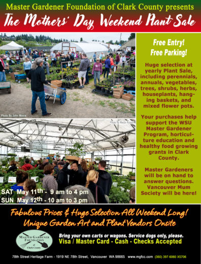 poster info for plant sale
