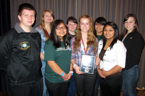 4-H youth at the Know Your Government Conference in Olympia, WA.