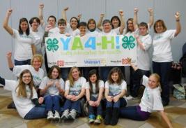 YA4-H Teen Teachers from Oregon State University