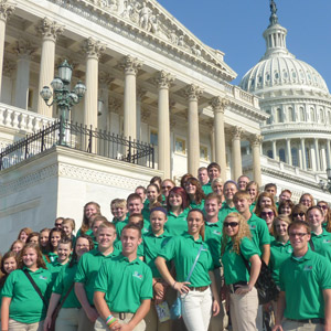 4-H citizenship youth at our nation's capital