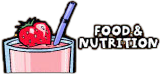 Bam! Food and Nutrition website (a strawberry smoothie with fresh strawberry on top)