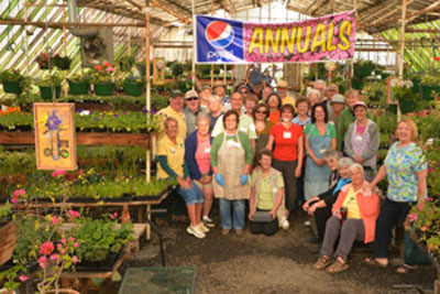 Master Gardeners ready for the Plant Sale