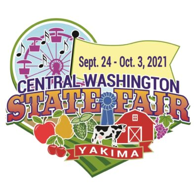 Central Washington State Fair Yakima September 24 through October 3rd, 2021