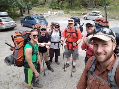 Seth W/ 8 Mile Camp group