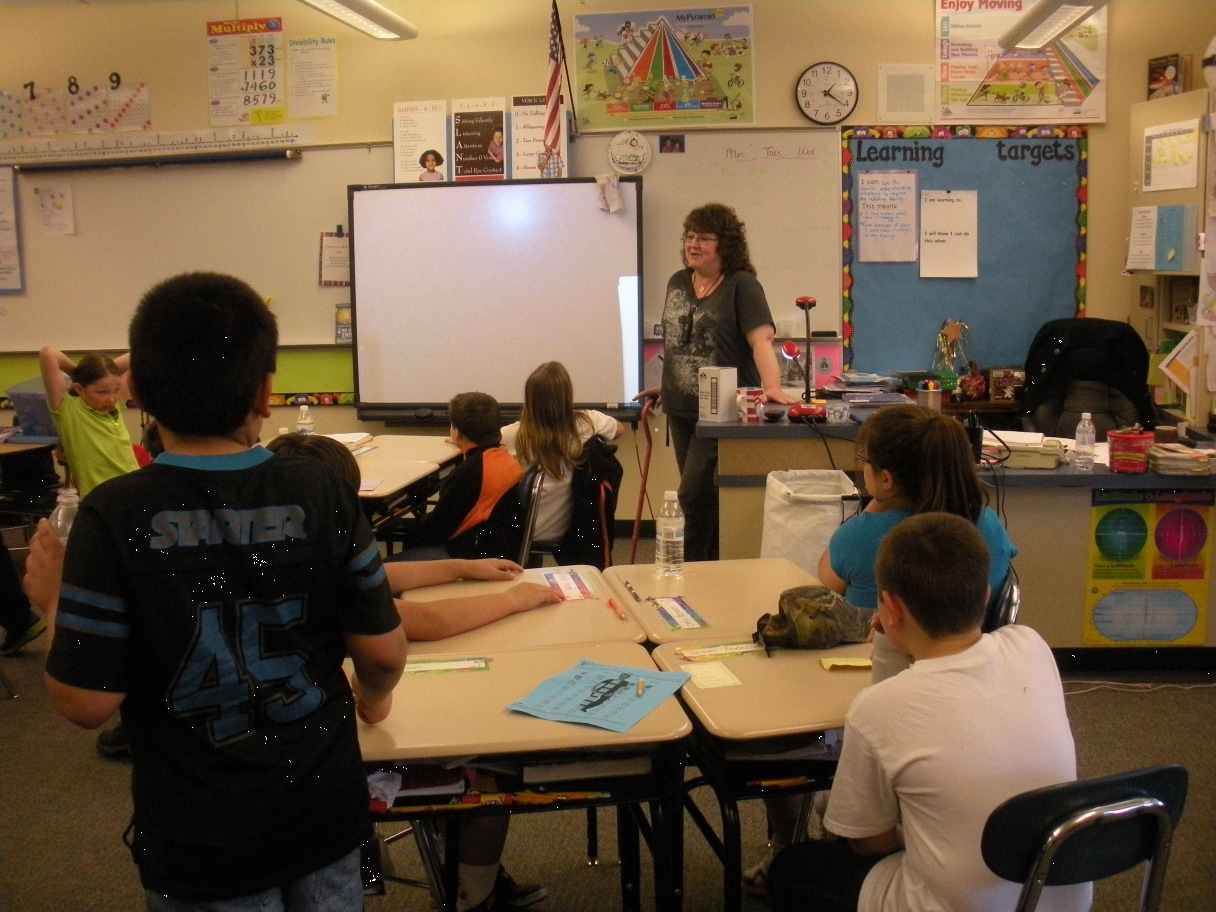 Teaching in the classroom