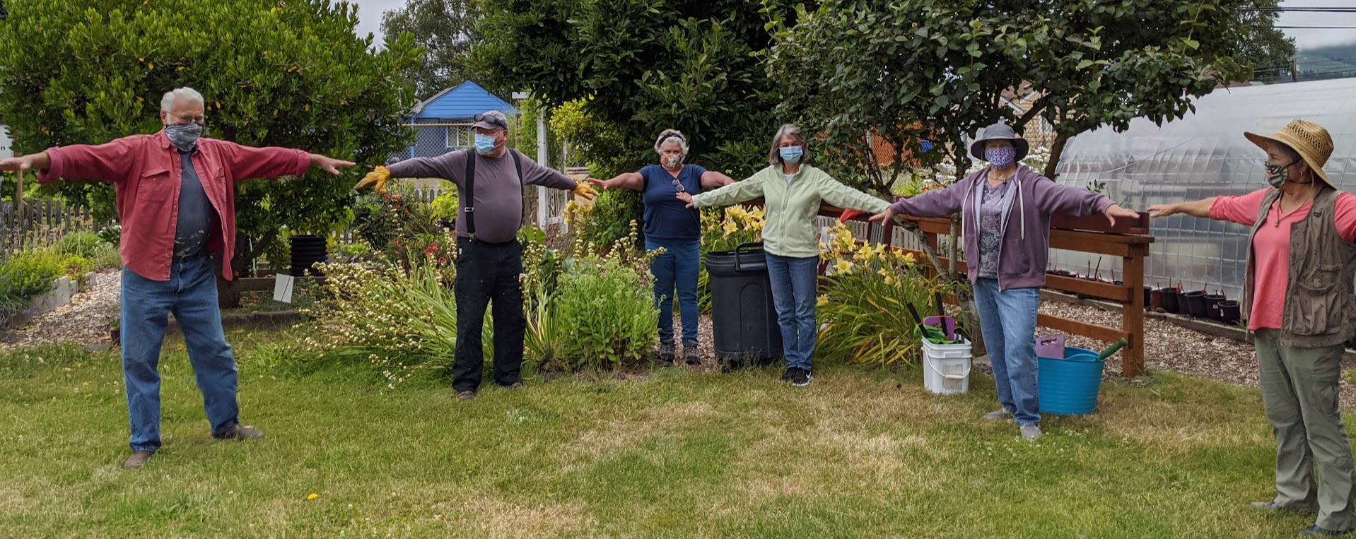 Master Gardener Volunteers Social Distancing