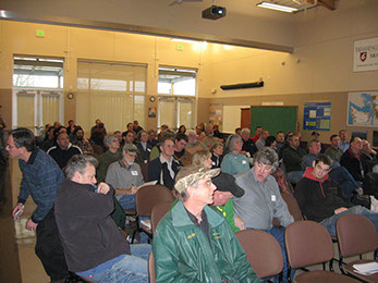 Photo of farm meeting