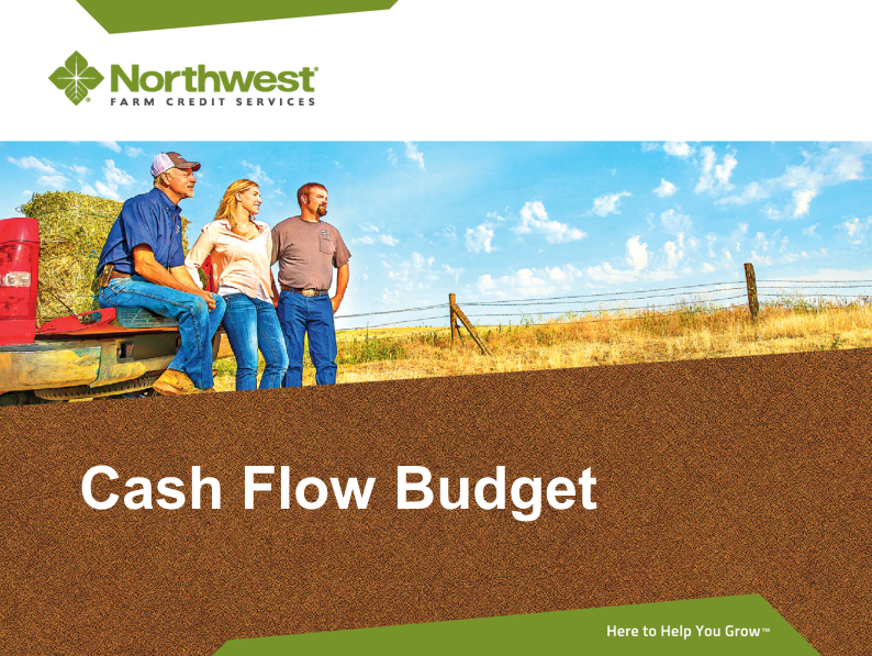 NW Farm Credit Cash Flow Budget
