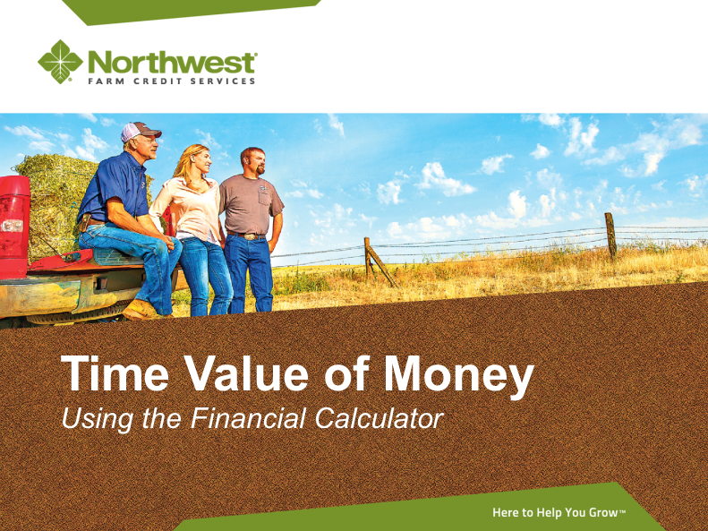 NW Farm Credit Time Value of Money