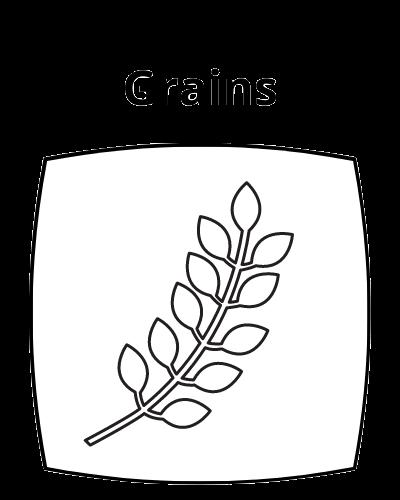 Grains Icon Button