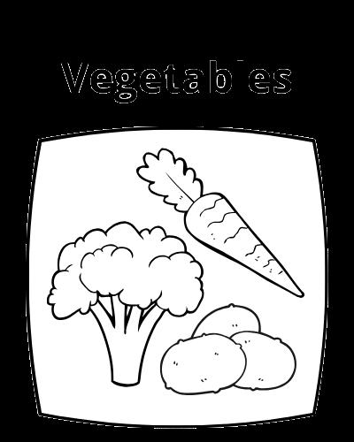 Vegetable Icon Button