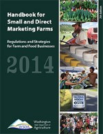 WSDA rules and regulations handbook for selling food in WA state.