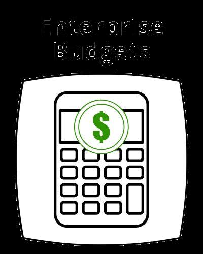 Enterprise budgets button