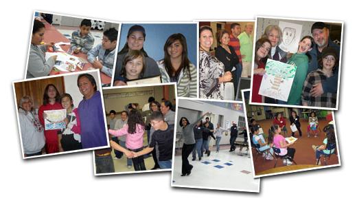 Photos of program participants