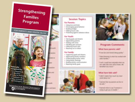 Strengthening Families Program Brochure