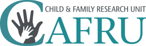Children and Family Research Unit logo.