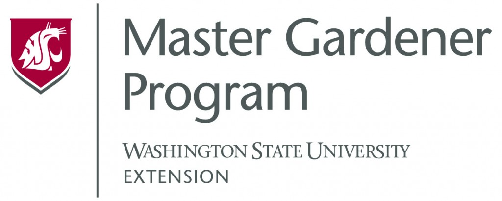 Master Gardener Program logo link to mastergardener.wsu.edu/