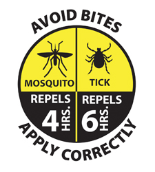 New EPA graphic for repellent labeling.