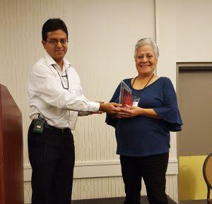 Rosa is the 2017 Line Worker Award Winner