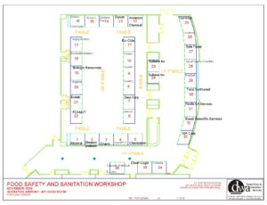 Map of all FSS exhibitors