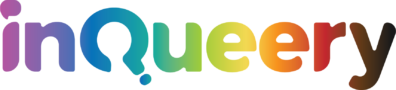 inQueery logo in rainbow colors.