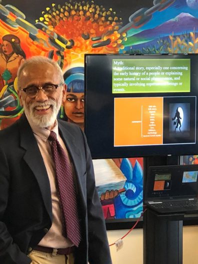 """Dr. Francischo Manzo-Robledo speaks for Latinx Heritage Month"""