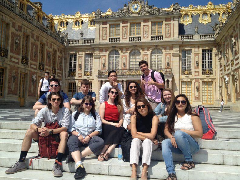 """""""Students at Versailles"""""""