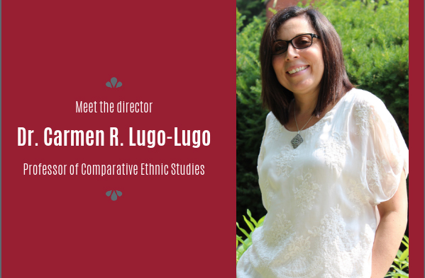 Meet Carmen Lugo-Lugo, director, School of Languages, Cultures, & Race.