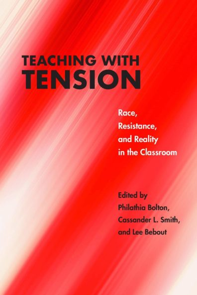 """""""Teaching with Tension book cover."""""""