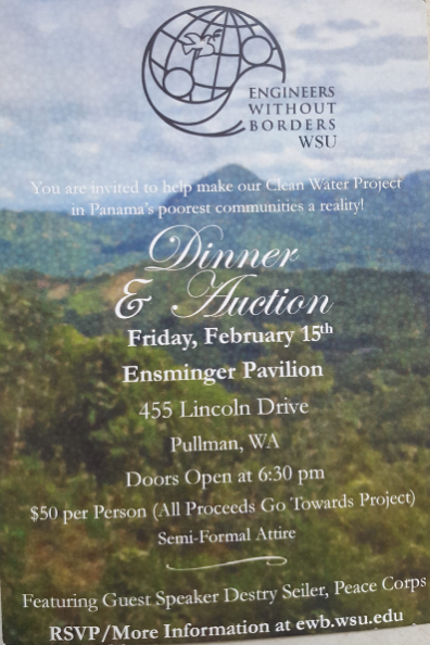 """""""Flyer for Engineers Without Borders WSU."""""""