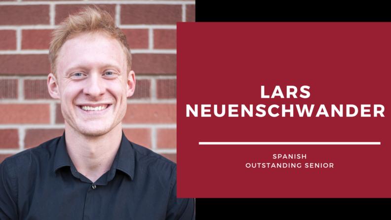 """""""Lars Neuenshwander."""""""