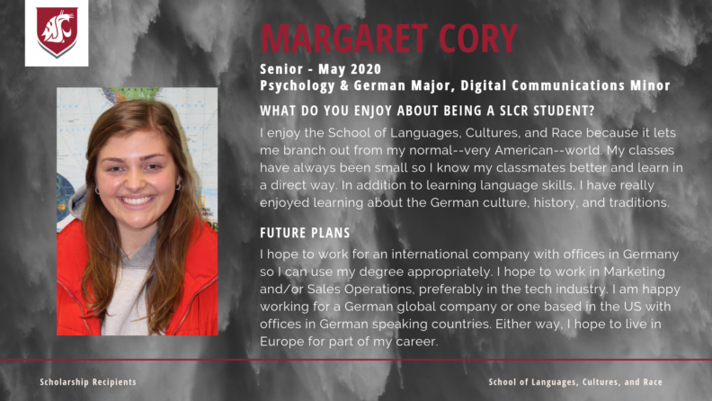"""Margaret Cory."""