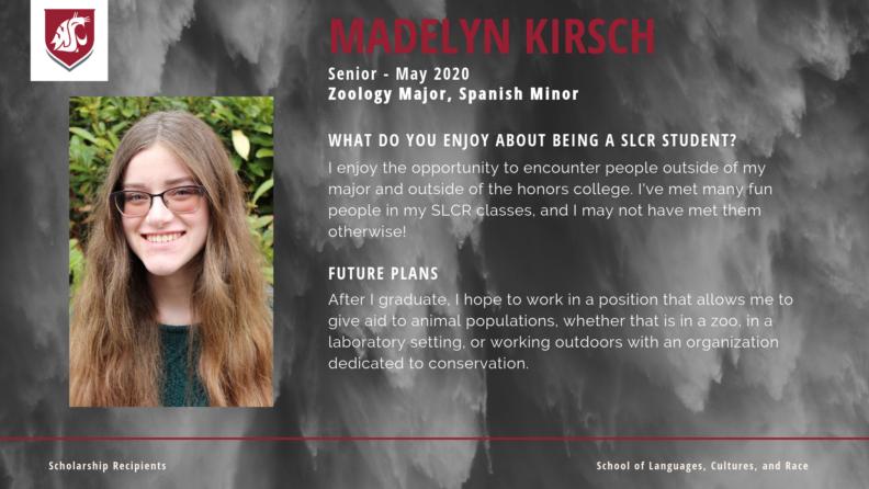 """Madelyn Kirsh."""