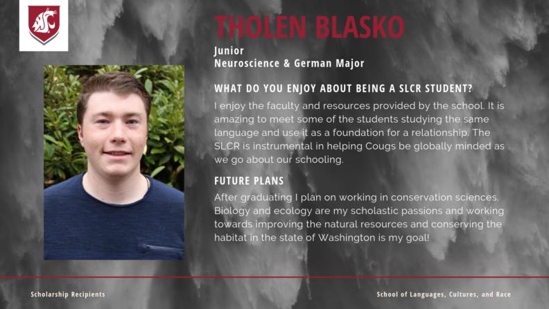 """Tholen Blasko."""