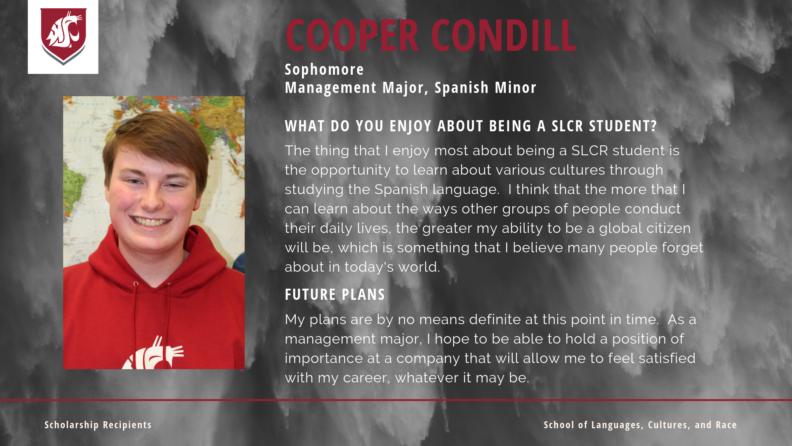 """""""Cooper Condill."""""""